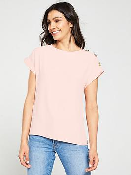 v-by-very-gold-button-detail-shell-top-blushnbsp