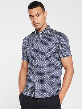 ted-baker-steeve-geo-print-shirt-navy