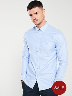 ted-baker-long-sleeved-branded-tape-shirt-light-blue