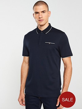 ted-baker-jersey-polo-shirt-navy