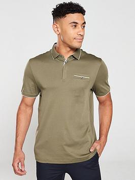 ted-baker-finchamnbsppolo-shirt-khaki