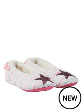 joules-girls-dreama-reversible-sequin-star-slippers-multi