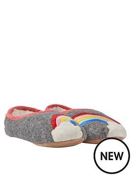 joules-girls-rainbow-slippers-grey