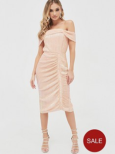 lavish-alice-off-shoulder-sequin-ruched-midi-dress-light-pink
