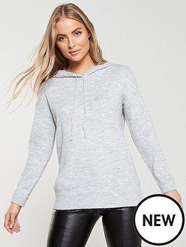 v-by-very-knitted-hoodienbsp--grey-marl