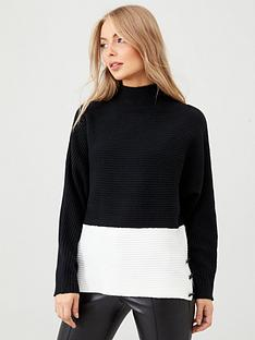 v-by-very-colour-block-jumper-black-cream