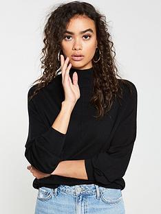 v-by-very-turtleneck-seam-detail-jumper-black