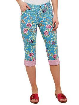 joe-browns-floral-capri-pants