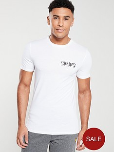 lyle-scott-fitness-small-logo-t-shirt