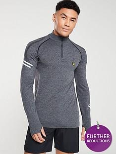 lyle-scott-fitness-seamless-quarter-zip-long-sleeved-running-t-shirt
