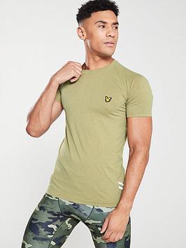 lyle-scott-fitness-seamless-run-t-shirt-bay-green