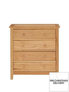 julian-bowen-salerno-solid-oakoak-veneer-4-drawer-chest