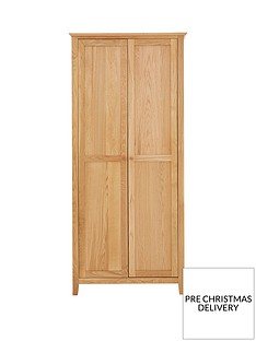 julian-bowen-salerno-2-door-solid-oakoak-veneer-wardrobe
