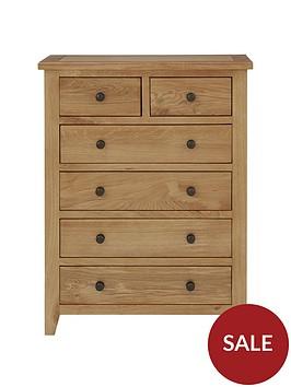 julian-bowen-marlborough-ready-assembled-4-2-drawer-chest