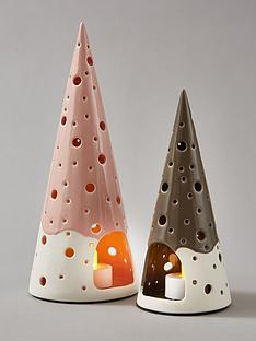 set-of-2-christmas-tree-tealight-holders