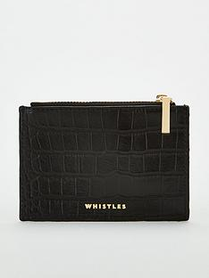 whistles-leather-shiny-croc-coin-purse