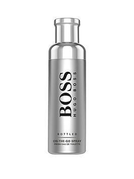 Boss   Bottled On-The-Go Spray For Men 100Ml Eau De Toilette