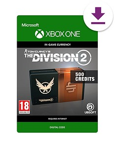 xbox-one-tom-clancys-the-division-2-500-premium-credits-pack