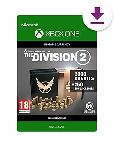 xbox-one-tom-clancys-the-division-2-2250-premium-credits-pack