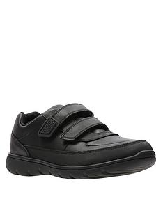 clarks-older-venture-walk-strap-shoes-black-leather