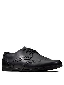 Clarks Clarks Scala Lace Brogues - Black Picture