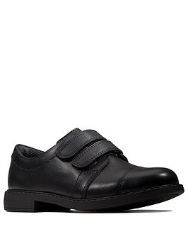 Clarks Clarks Scala Skye Strap Shoes - Black Picture