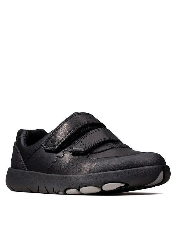 Rex Pace School Shoes Black