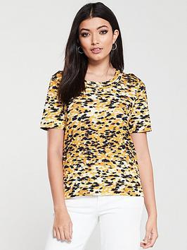 whistles-ikat-print-rosa-double-trim-t-shirt-yellowmulti