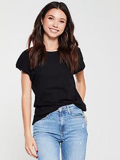 whistles-minimal-cap-sleeve-t-shirt-black
