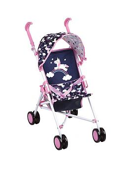 hauck-unicorn-drive-sun-doll-stroller