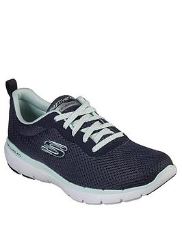 Skechers Skechers Flex Appeal 3.0 First Insight Trainers - Navy Picture