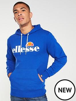 ellesse-gottero-overhead-hoodie-blue