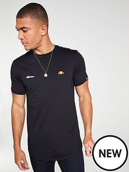 ellesse-fede-taped-t-shirt-black