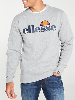 Ellesse Ellesse Succiso Crew Neck Sweat - Grey Marl Picture