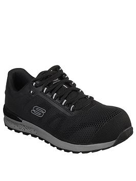 Skechers Skechers Bulklin Trainer - Black Picture