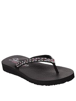 skechers-meditation-perfect-10-flip-flops-black