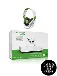 xbox-one-s-1tbnbspall-digital-edition-console-disc-free-gaming-with-ear-force-recon-70x-headset