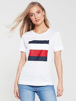 tommy-hilfiger-cathy-crew-neck-t-shirt