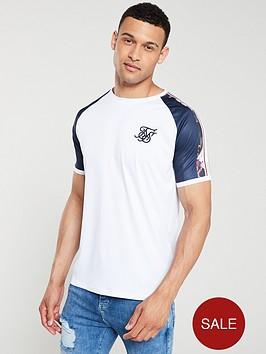 sik-silk-starlite-raglan-curved-hem-t-shirt-white