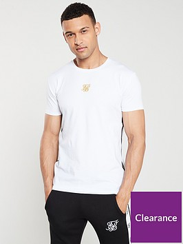 sik-silk-side-tape-t-shirt-white