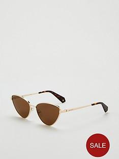 polaroid-round-sunglasses-gold