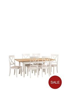 julian-bowen-davenport-150--nbsp189-cm-extending-dining-table-6-chairs