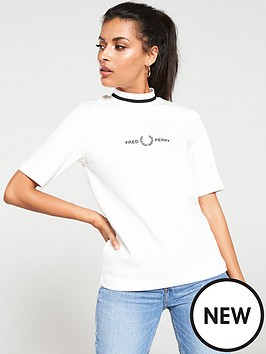 fred-perry-printed-high-neck-t-shirt