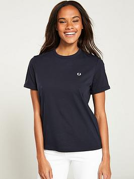 fred-perry-ringer-t-shirt-navy
