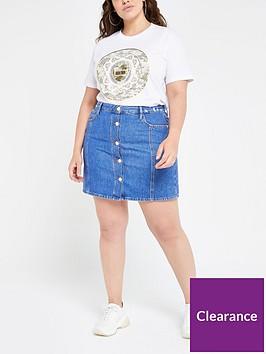 ri-plus-ri-plus-button-front-denim-mini-skirt--blue