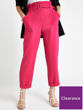 ri-petite-belted-peg-trouser--pink