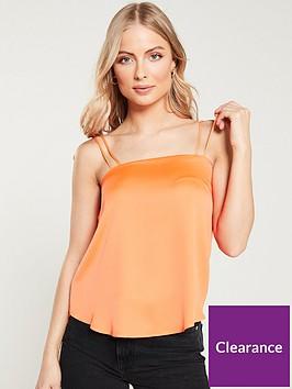 river-island-tie-strap-cami--orange