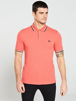fred-perry-twin-tipped-polo-shirt-tropical-red