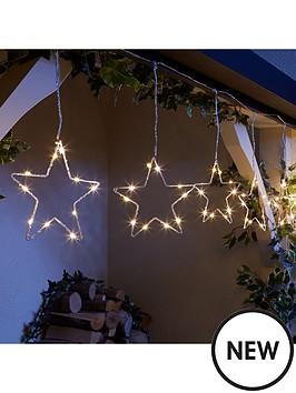 80-warm-white-static-led-star-curtain-lights