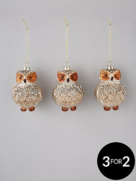 glass-owl-tree-decorations-set-of-3